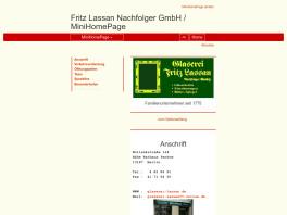 Fritz Lassan Kunst-und Bauglaserei Nachfolger GmbH Berlin