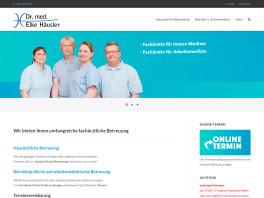 Dr. Elke Häusler Facharzt für Innere Medizin und Arbeitsmedizin Berlin
