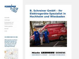 B. Schreiner GmbH Hochheim am Main