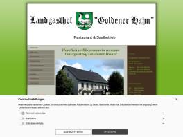 Landgasthof Goldener Hahn Stuvenborn