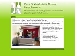 Praxis für physikalische Therapie Frank Rupprecht Garching bei München