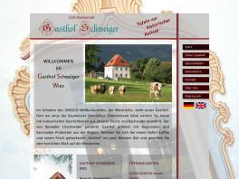 Gaststätte Schweiger an der Wieskirche Steingaden, Oberbayern