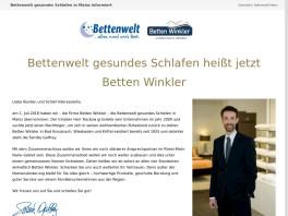 Bettenwelt gesundes Schlafen GmbH Mainz am Rhein