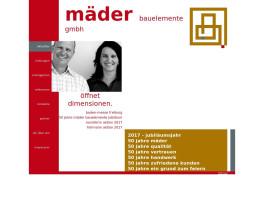 Mäder Bauelemente GmbH Garagentorbau Breisach am Rhein