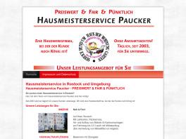 Hausmeisterservice Paucker Rostock