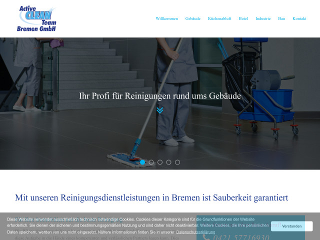 ▷ Active Clean Team Bremen GmbH ✅ | Tel. (0421) 577169... ☎ -