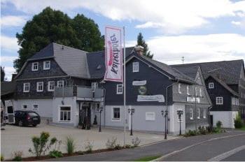 hotel rennsteig steinbach am wald speisekarte