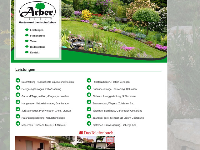 ▷ Arber Garten- und Landschaftsbau e.K. ✅ | Tel. (0911) 54043 ...
