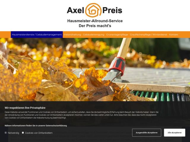 Geliebte ▷ Axel Preis Hausmeisterallround Service   Tel. (0761) 76938... ☎ @VM_25