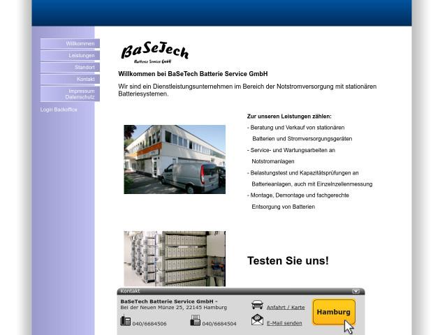 Basetech Batterie Service Gmbh Tel 040 66845