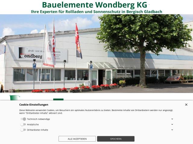 ▷ Bauelemente Wondberg KG ✅ | Tel. (02202) 303... ☎ -
