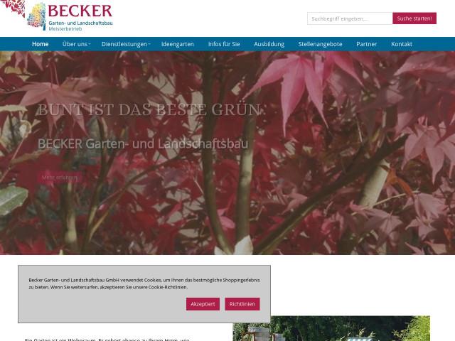 Becker Garten Und Landschaftsbau becker garten und landschaftsbau gmbh tel 02202 9817