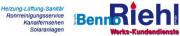 Logo Riehl Benno GmbH Heizungs-,Luft-, u. Sanitärtechnik