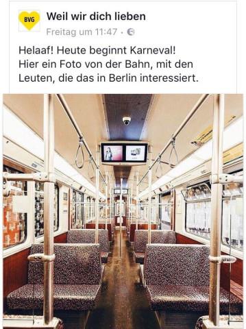 Berliner verkehrsbetriebe bvg anstalt des ffentlichen - Fundburo berlin ...