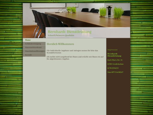 Bernhardt Dienstleistung Tel 0170 22942 Adresse