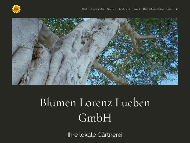 Lorenz essen  ▷ Blumen Lorenz Lueben GmbH ✅ | Tel. (0201) 50224... ☎ - 11880.com