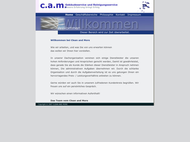 ▷ c.a.m. clean and more München GmbH ✅ | Tel. (089) 410794... ☎ -