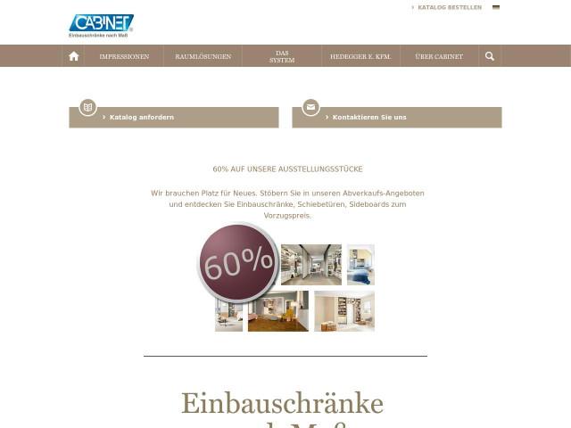 ▷ CABINET Einbauschränke Hedegger e. Kfm. ✅ | Tel. (069) 2333... ☎ -