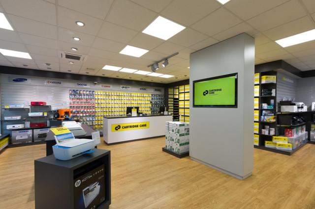 Cartridge Care Leipzig Shop Zentrum Süd Bürobedarfsfachhandel