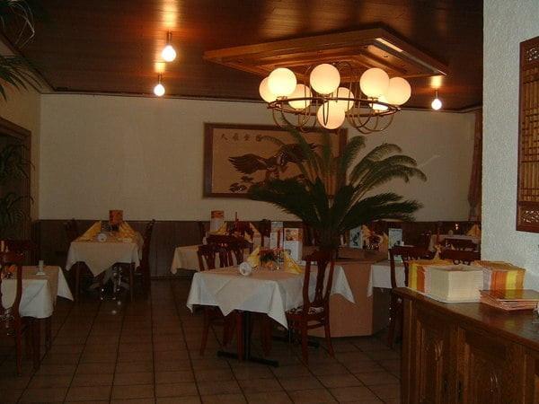 China Restaurant Bambus Garten Tel 0208 37650