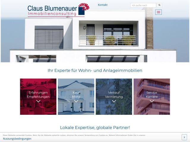 Claus Blumenauer Immobilienconsulting Konigstein