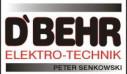 Logo D`Behr Elektro Technik Peter Senkowski