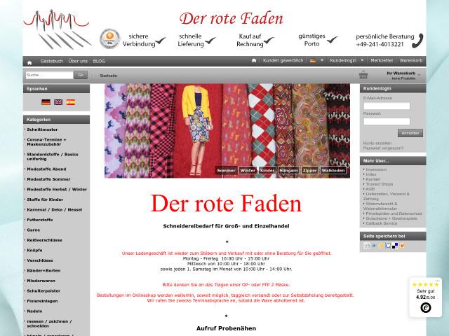 Der rote Faden Karin Schell Groß und Einzelhandel für