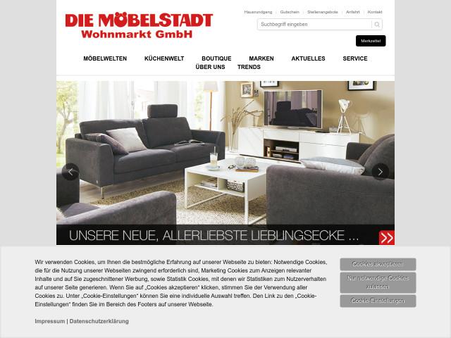 Die Mobelstadt Wohnmarkt Gmbh Tel 05233 200