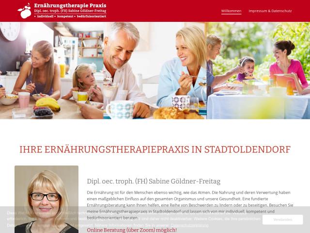 Diploectroph Sabine Goeldner Freitag Tel 05532 50991