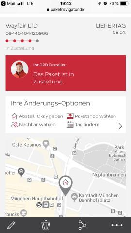 Dpd Systemlogistik Depot 180 Neufahrn Telefon Adresse
