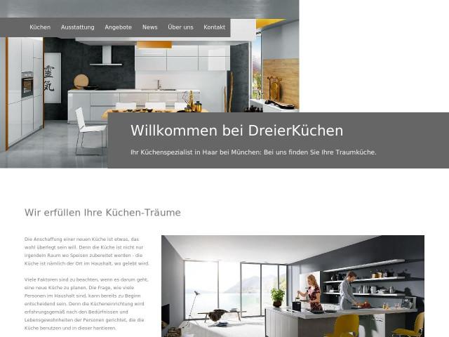 Küchen angebot münchen  ▷ Dreier Küchenkonzepte GmbH ✅ | Tel. (089) 45603... ☎ -