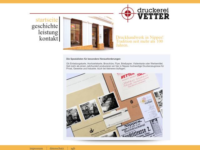 Druckerei Vetter Köln Nippes öffnungszeiten Telefon