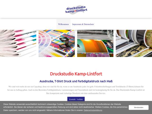Druckstudio Kamp Lintfort Tel 02842 567 Adresse