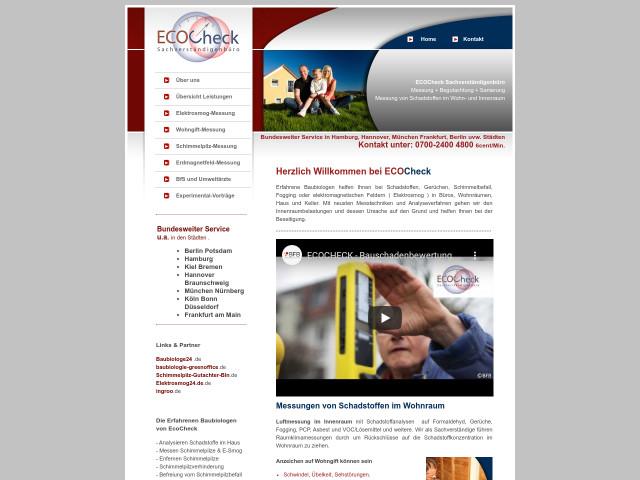 Baubiologe Berlin ecocheck sachverständigenbüro für baubiologie elektrosmog und