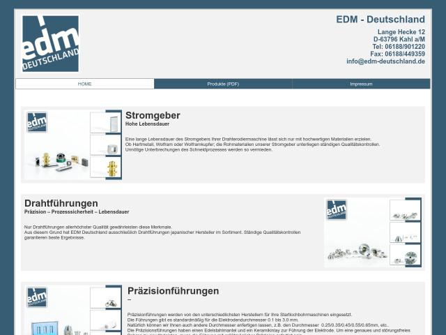 ▷ EDM-Deutschland Zeller & Hofmann GbR ✅ | Tel. (06188) 9012... ☎ -