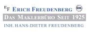 EF Erich Freudenberg Das Maklerbüro seit 1925       Dresden