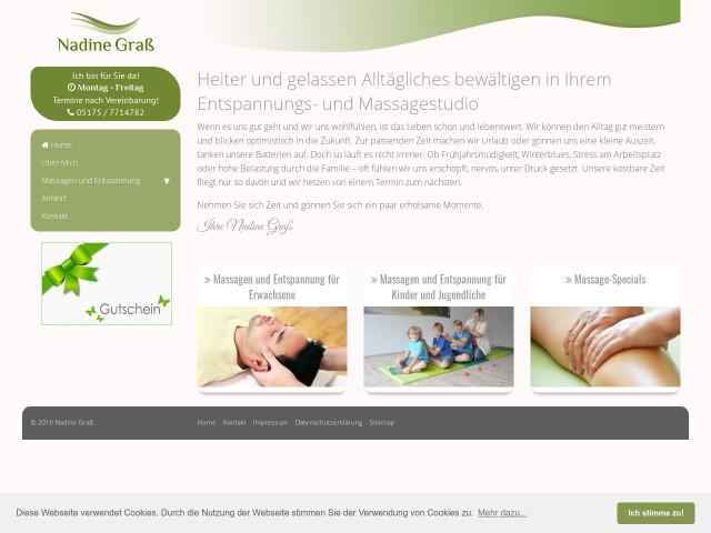 Erwachsenen-Massage-Websites