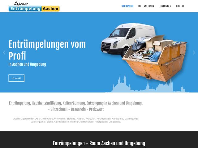 Umzugsunternehmen Düren express entrümpelung und umzug aachen tel 0241 518537
