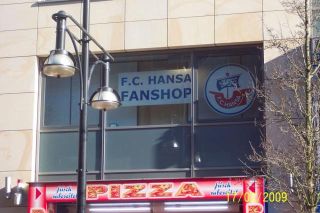 Fanshop Hansa Rostock