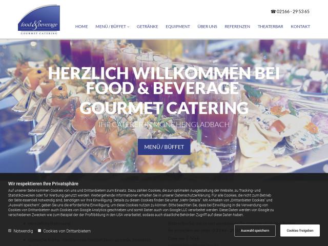▷ food & beverage Gourmet Catering M. Martin & H. Schröder GbR ...