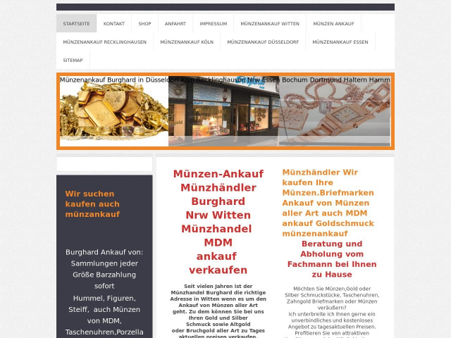 Frank Burghard Münzhandel Tel 02302 2752