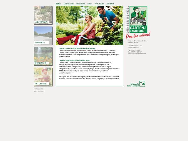 ▷ garten- & landschaftsbau günter henkel ✅ | tel. (07575) 22