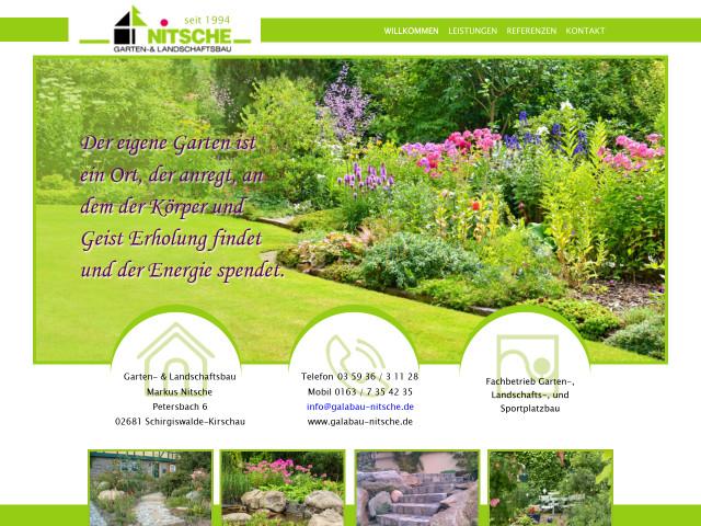 ▷ Garten- & Landschaftsbau, Inhaber Markus Nitsche ✅   Tel ...
