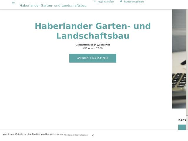 Garten Und Landschaftsbau Haberlander Tel 0176 554170