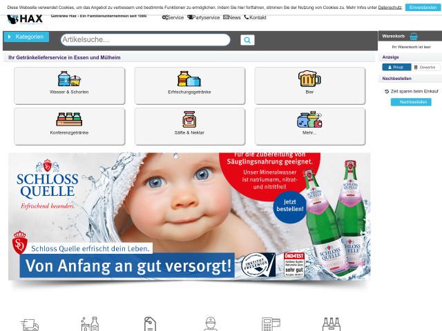 ▷ Getränke Hax Handels GmbH ✅ | Tel. (0201) 7156... ☎ -