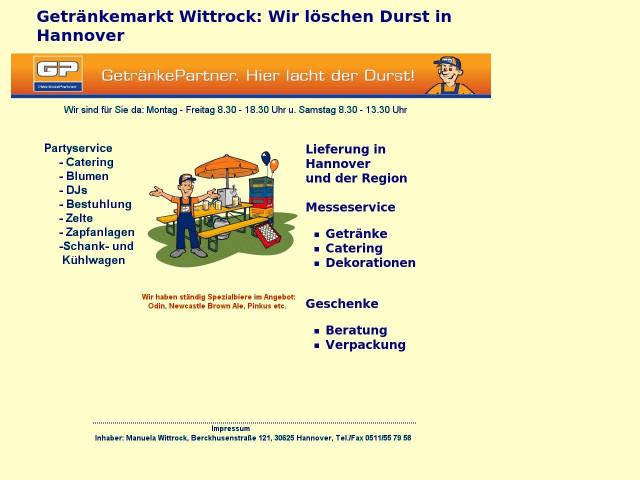 ▷ Getränkemarkt Wittrock ✅ | Tel. (0511) 5579... ☎ - Bewertung