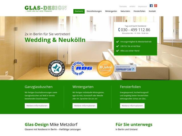 glas design mike metzdorf glaserei berlin neuk lln 1. Black Bedroom Furniture Sets. Home Design Ideas