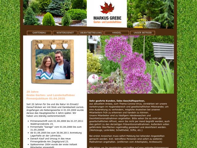 ▷ Grebe Garten- und Landschaftsbau ✅ | Tel. (05631) 980 ...