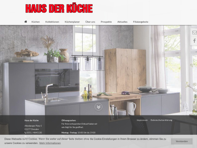 haus der k che dresden tel 0351 48451. Black Bedroom Furniture Sets. Home Design Ideas