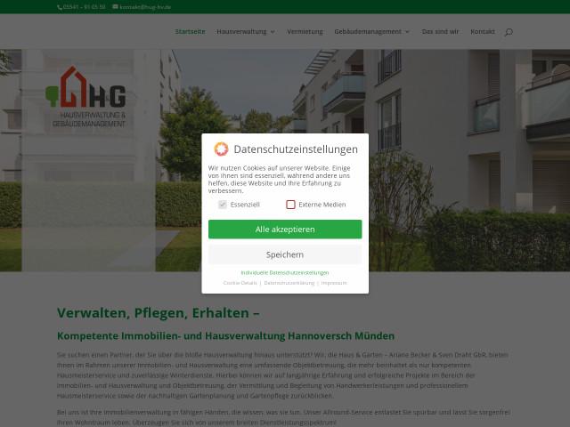 ▷ Haus & Garten - Ariane Becker & Sven Draht GbR ✅   Tel. (05541 ...